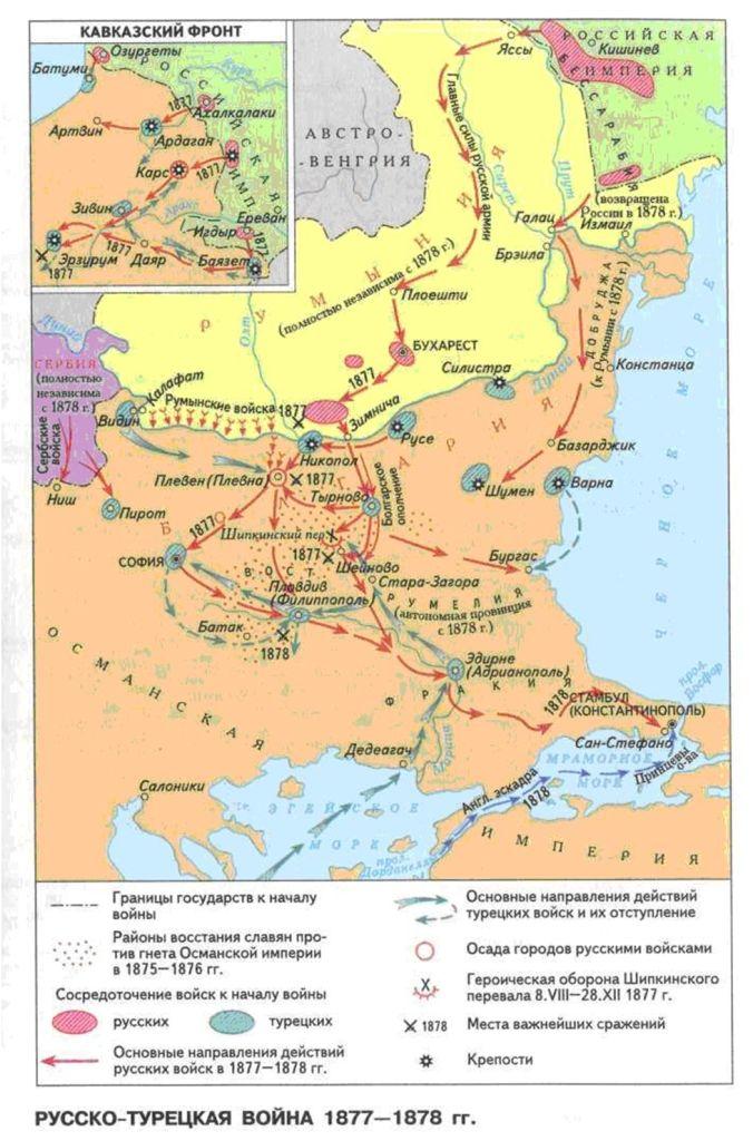 1878 гдз история кк русско-турецкая война-1877