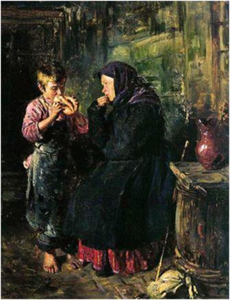 картина свидание маковского: